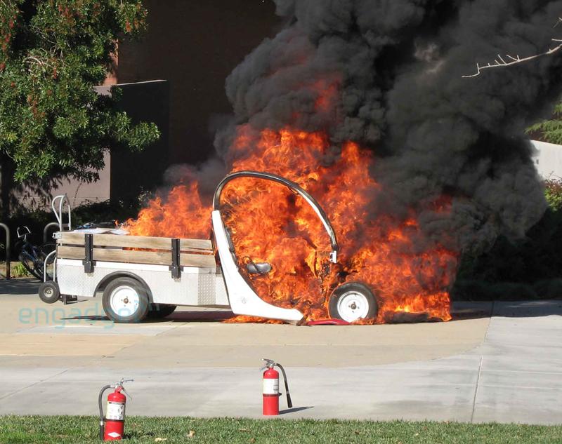 Gem on fire   Golf Quest International Electric Golf Cart Fire on electric golf cart skateboard, electric golf cart bus, electric golf cart racing,