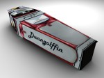 Golf Bag Coffin - Dunngolffin Coffin