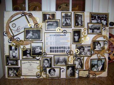 funeral poster board2 golf quest international. Black Bedroom Furniture Sets. Home Design Ideas
